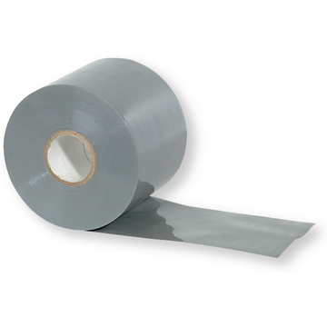 Ruban PVC gris 20mx75 mmx0,19 mm